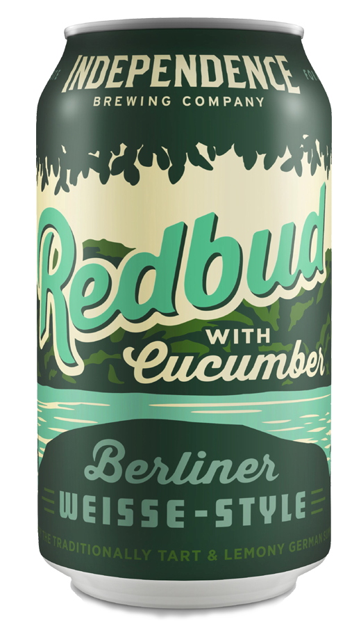 Redbud with Cucumber, Independence Brewing Company can