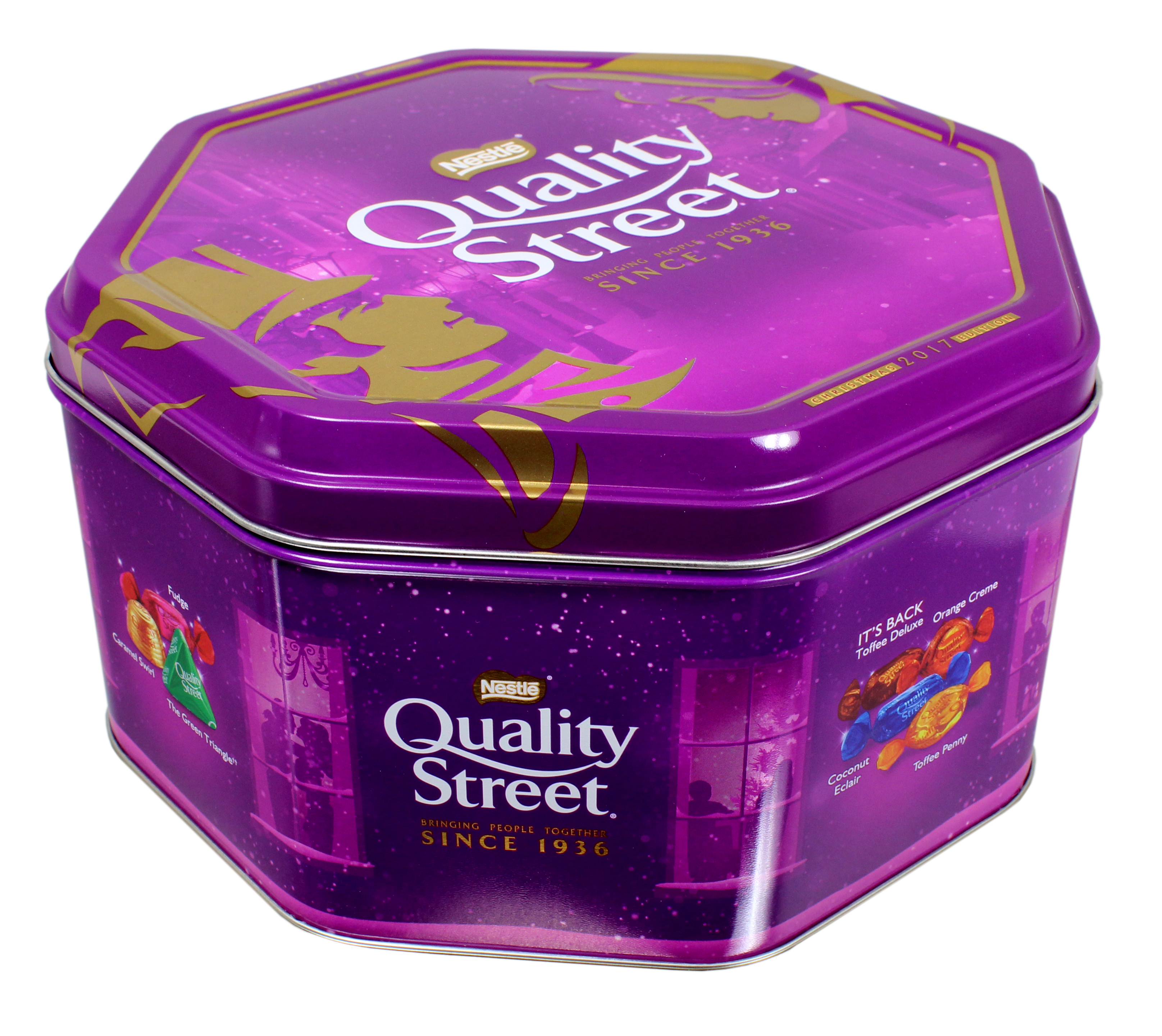 Nestle's Quality Street tinned toffees