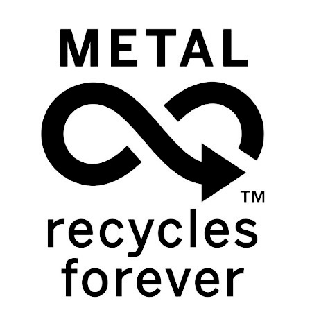 Logo for Metal Recycles Forever