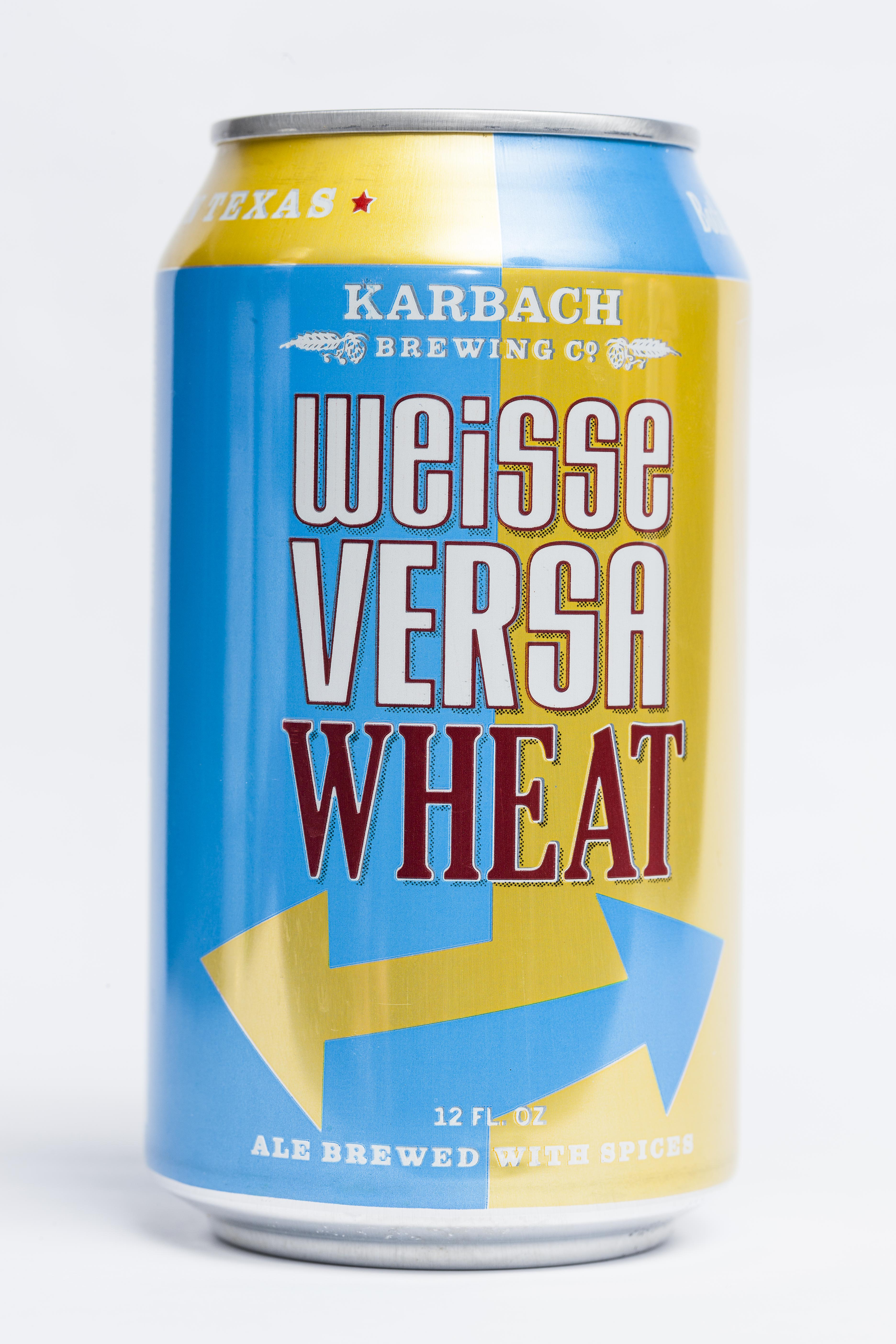 Weisse Versa Wheat Beer Can