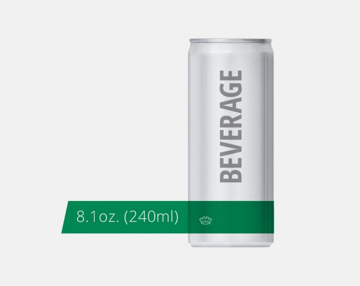 8.1oz. 202 Beverage Can