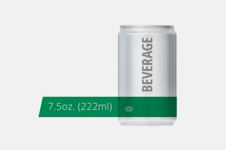 7.5oz. 204.5 Beverage Can