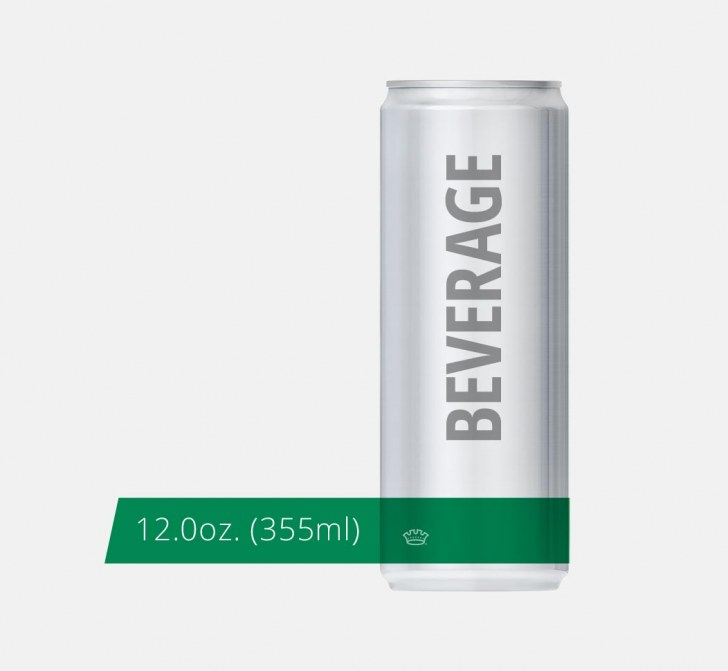 12oz. 204.5 Beverage Can