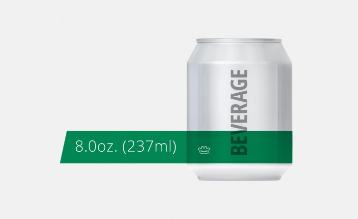 8oz. 211 Beverage Can