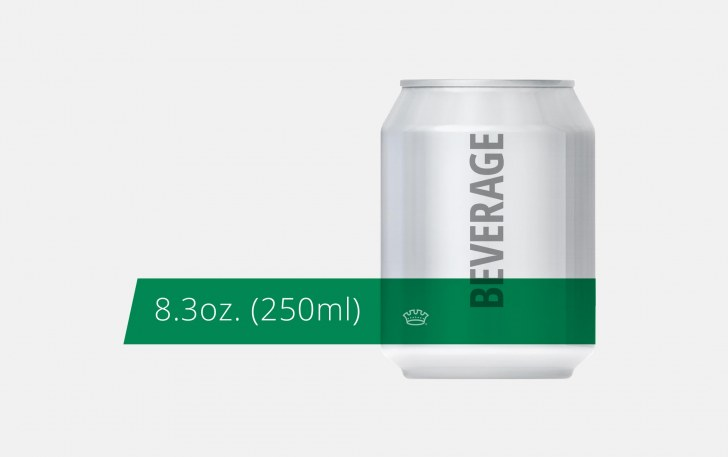 8.3oz. 211 Can