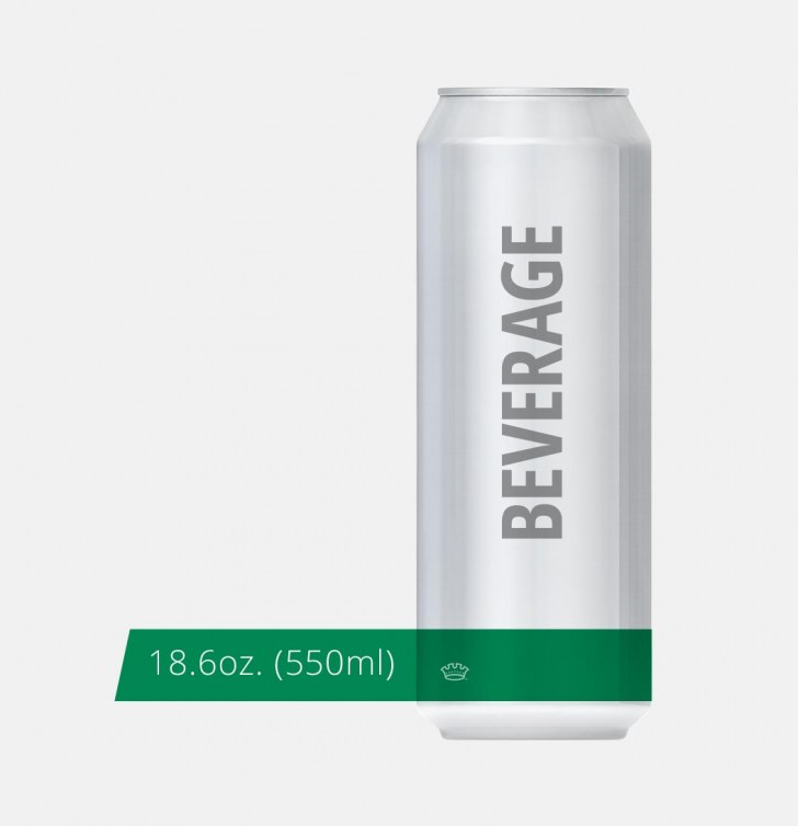 18.6oz. 211 Bevergae Can