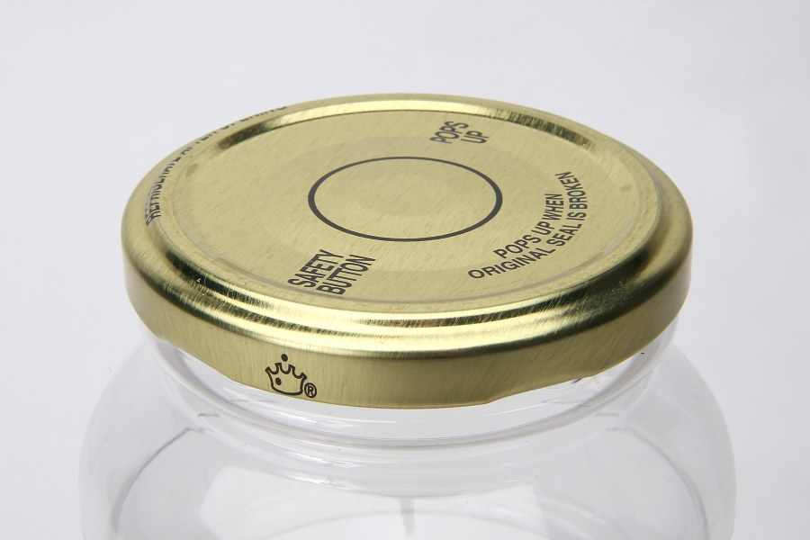 Crown Metal Closures for PET Containers