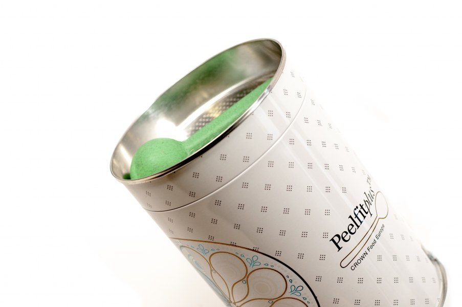 Peelfit™ utilizes DHS to seal an aluminum foil closure twithin the can body