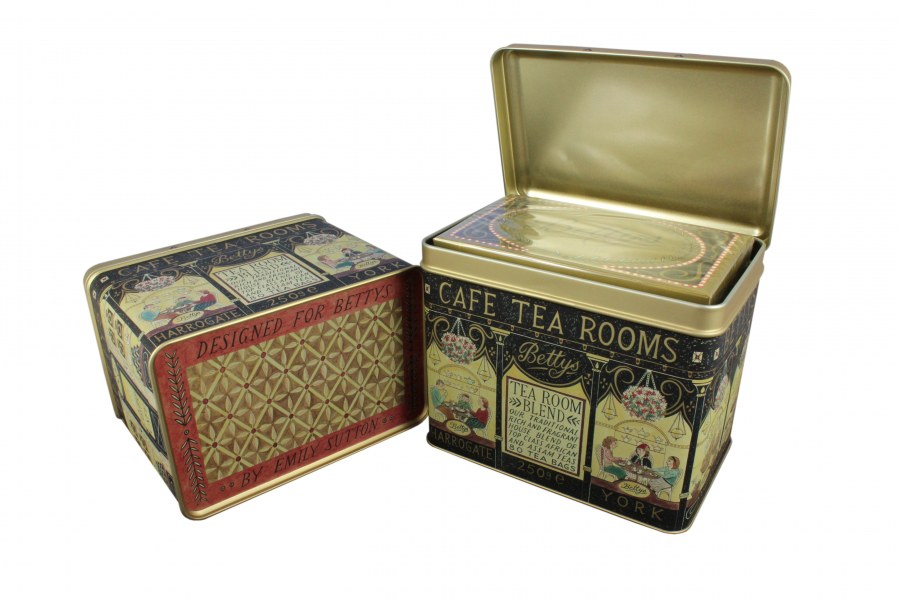 Crown Tins for Betty's Tea
