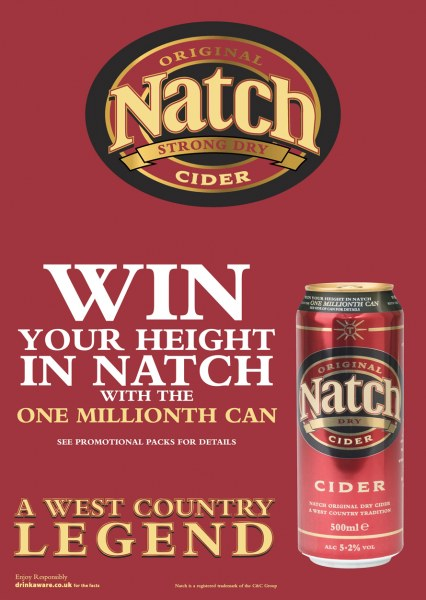 Instant Win ad for Natch