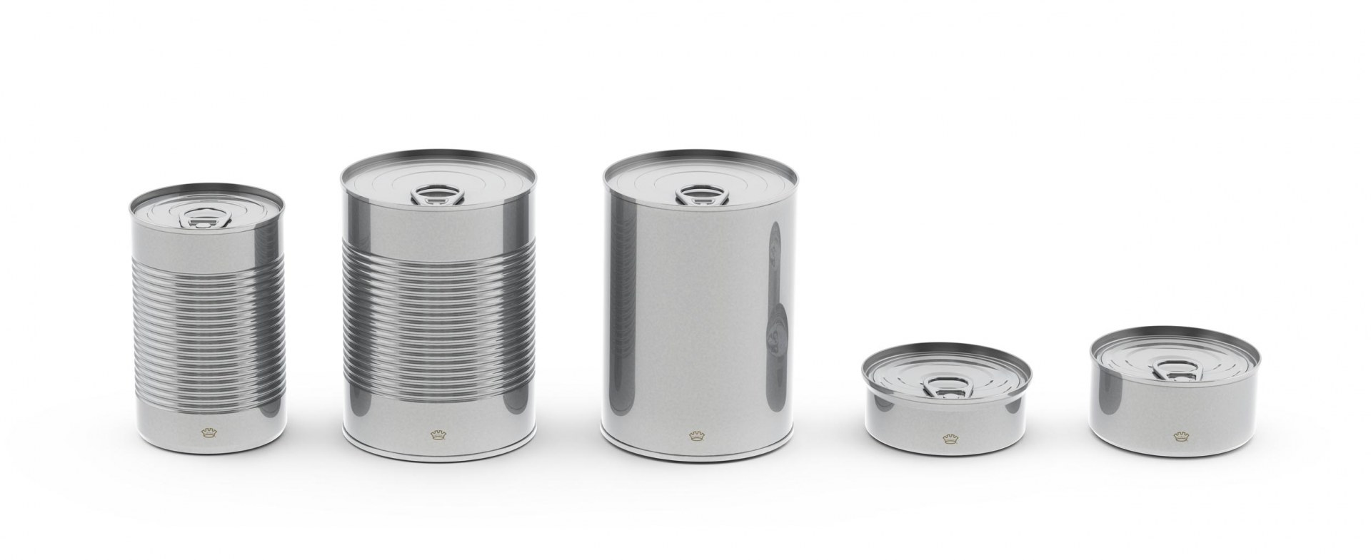 Round cans crown for Aluminum cuisine