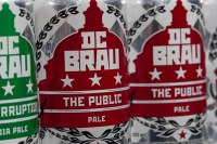 DC Brau craft beer can design