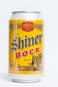 Shiner Bock Beverage Can