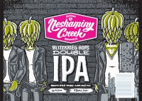 Neshaminy Creek Brewing Blitzkrieg Hops Double IPA