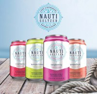 Nauti Seltzer in Crown Cans