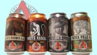 Four Avery Brewing Cans