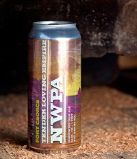 A Fort George Beer Can