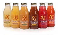 Full range of Honeydrop Drink Packaging