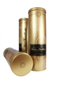 Luxury, innovative wine packaging for Nicolas Feuillatte Champagne
