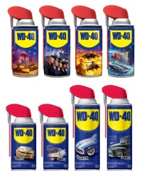 WD-40 and variable printing