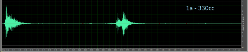 Sound wave for 330cc beverage can opening