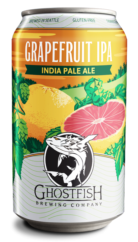Ghostfish Brewing Company Grapefruit IPA