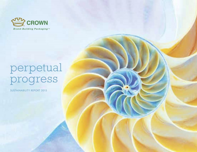 Crown's 2015 Sustainability Report