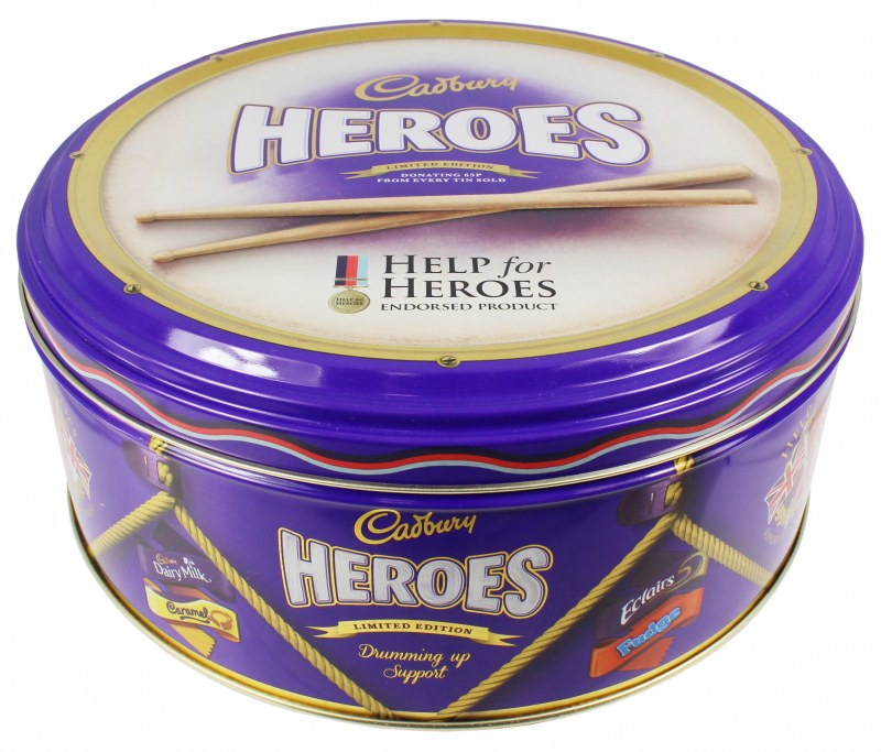 Help for Heroes Tin