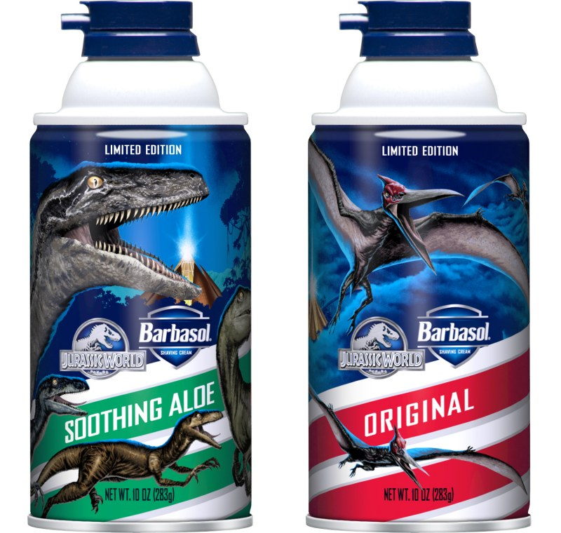 Jurassic World Crown Cans