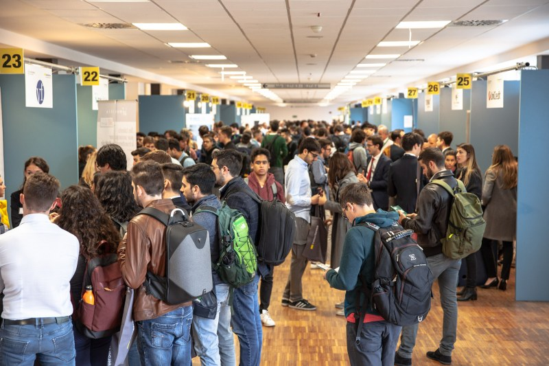 Young Engineers at Milan Jobs Fair
