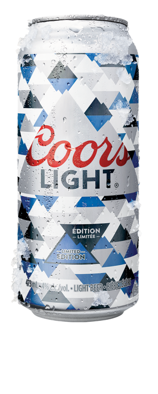 Crown And Coors Light Canada Pioneer Use Of Photochromic Inks To Engage  Consumers
