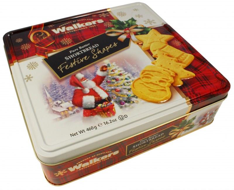 Walkers Holiday Tin