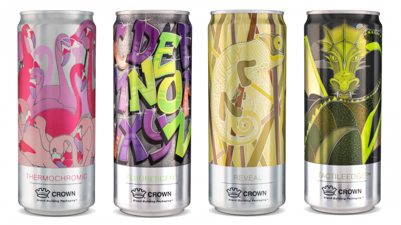 Beverage Cans by Crown