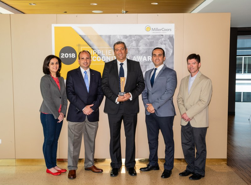 Crown Beverage Packaging Mexico Honored By MillerCoors As Its 2018 Supplier Of The Year And Most Valuable Plant