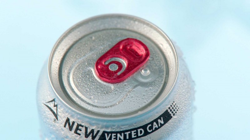 Beverage can with Global Vent™