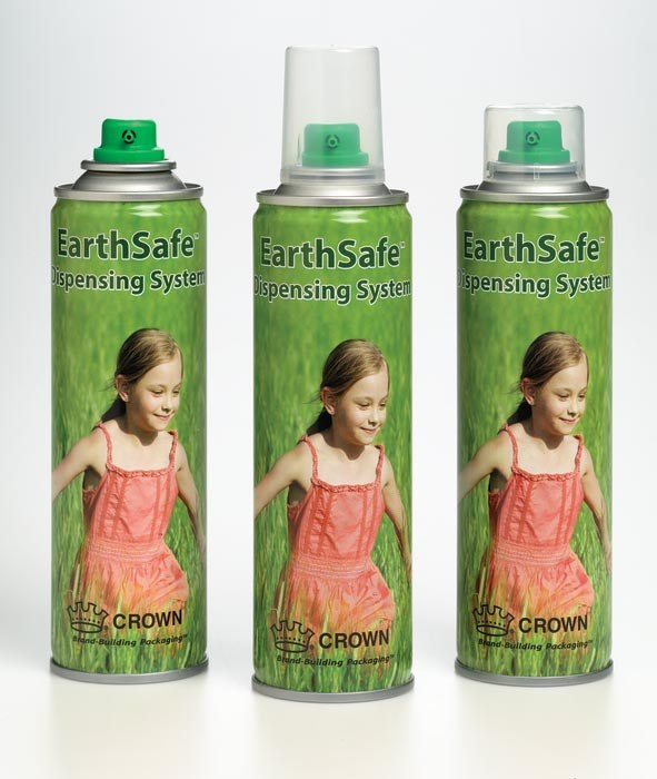 Green aerosol packaging: The EarthSafe™ Dispensing System