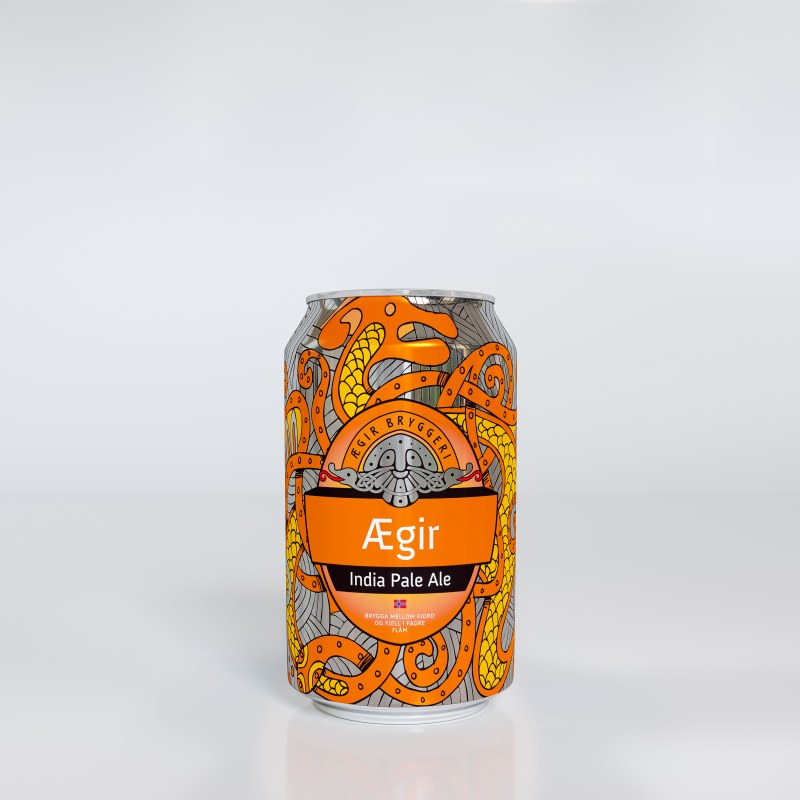 Aegir Bryggeri's craft beers featuring Crown's innovative 360 End®.
