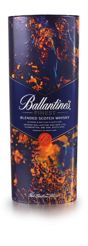 Alcohol gift sets packaging for Ballantine's Blended Scotch Whisky