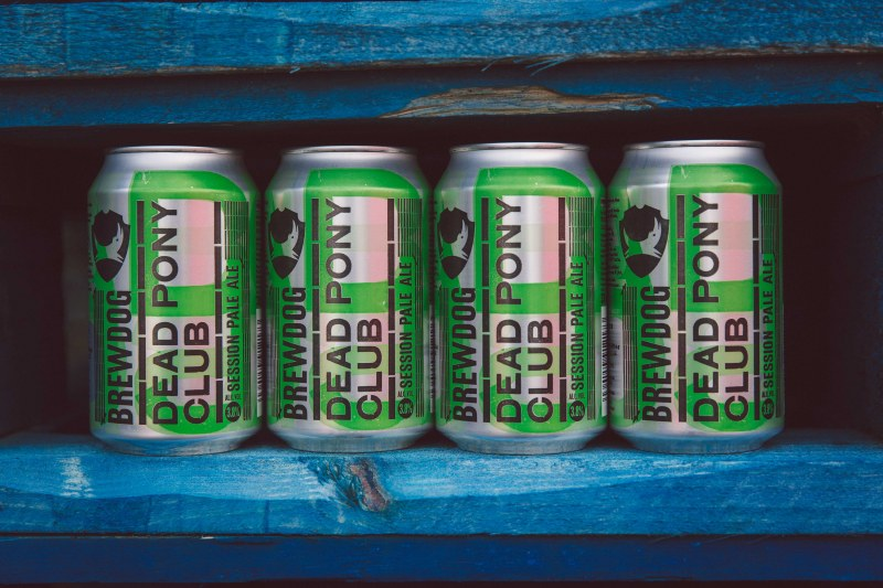 BrewDog in Crown Cans