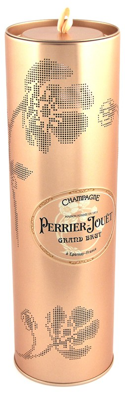 Innovative wine packaging for Perrier Jouët's Grand Brut champagne